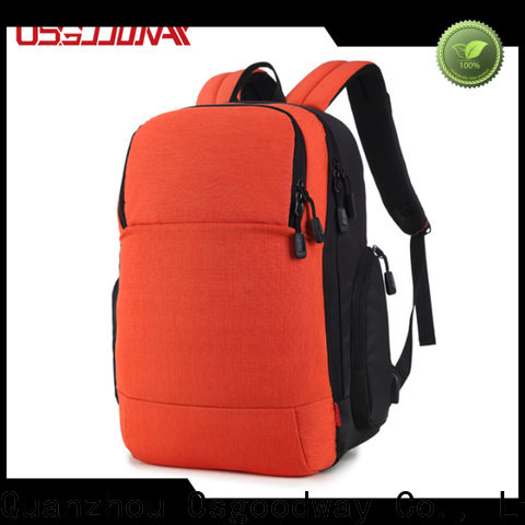 Osgoodway good quality anti-theft laptop backpack from China for men