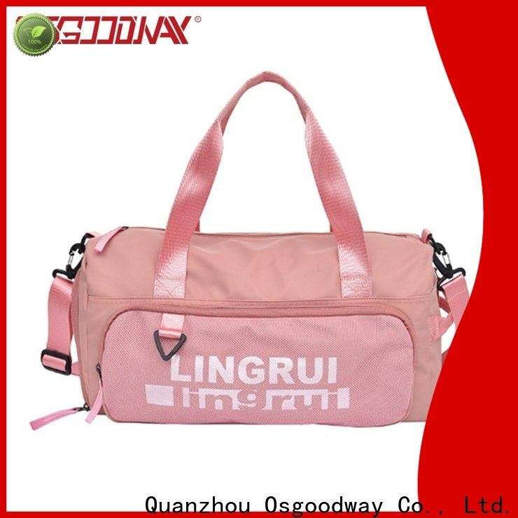 Osgoodway china bag factory with Multi-pockets for gym