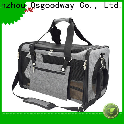 Osgoodway durable dog travel bag manufacturer for dog