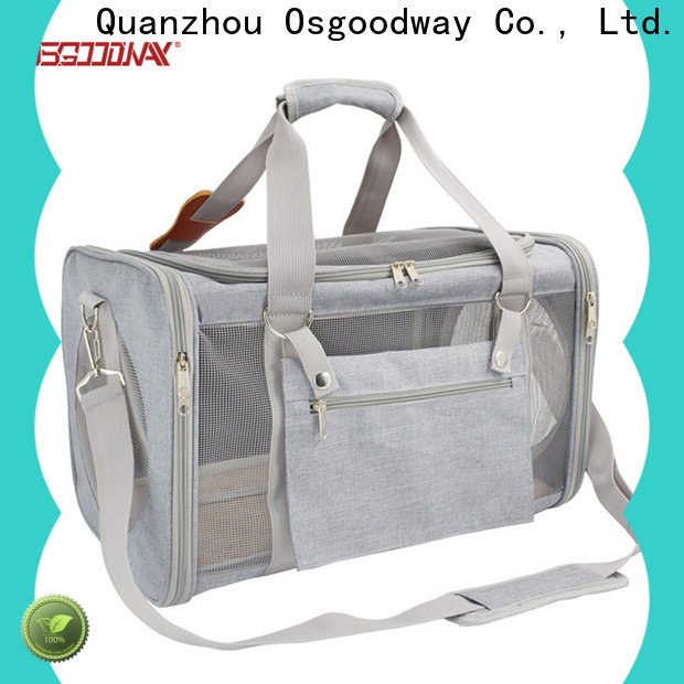 Osgoodway long lasting pet carrier bag directly sale for pet