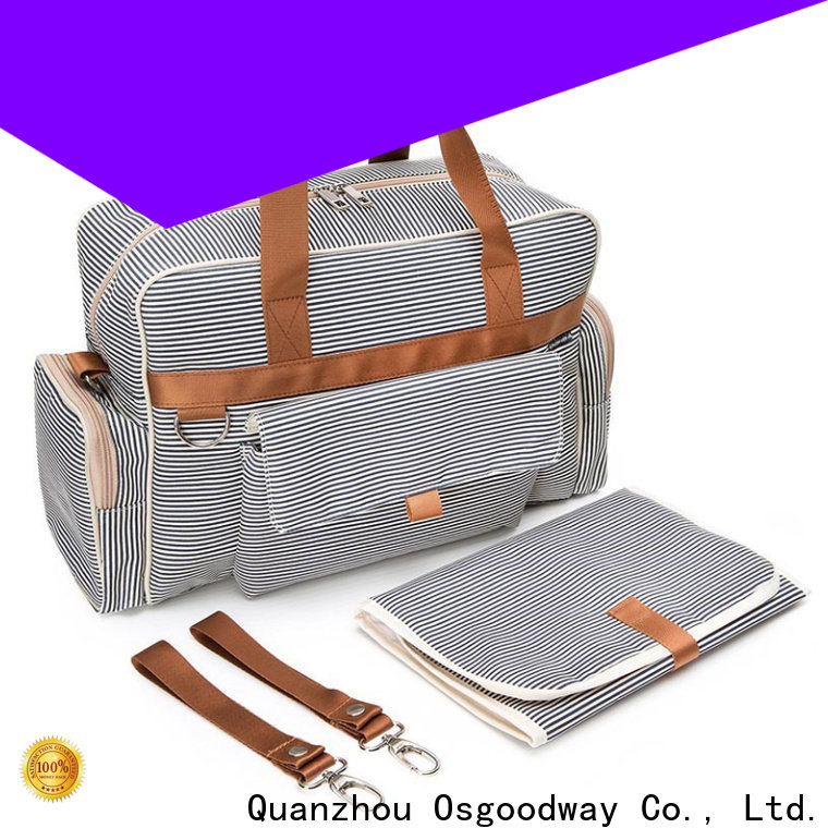 Osgoodway wholesale diaper bags easy to carry for mom