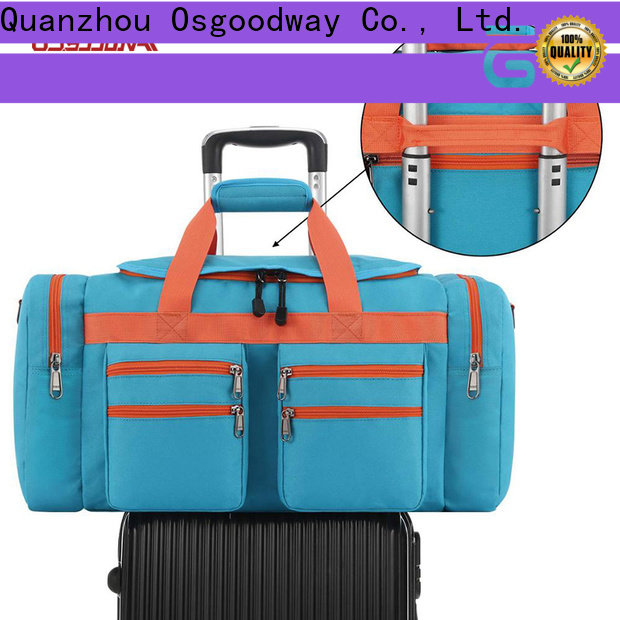 Osgoodway good quality soccer duffle bag design for travel