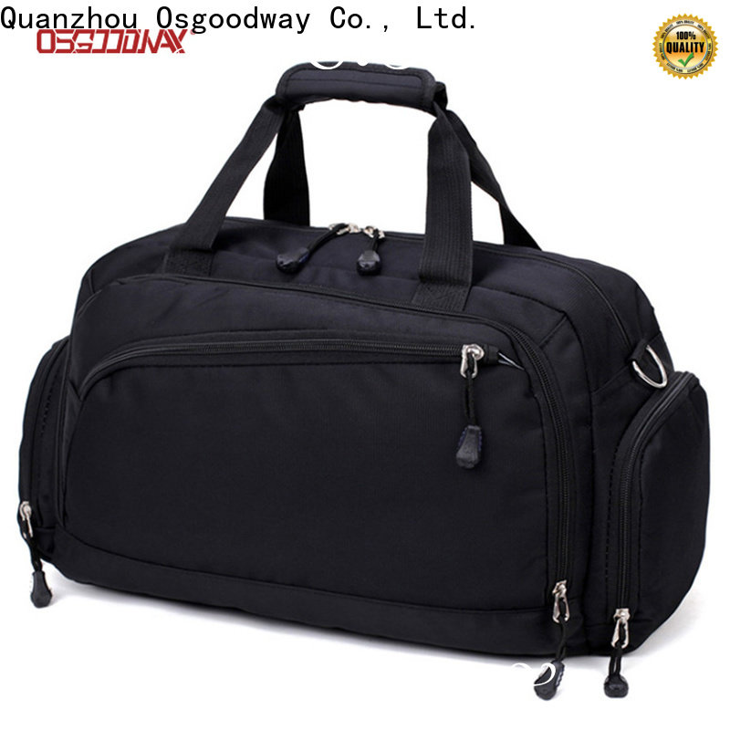 Osgoodway good quality canvas duffle bag mens design for fitness