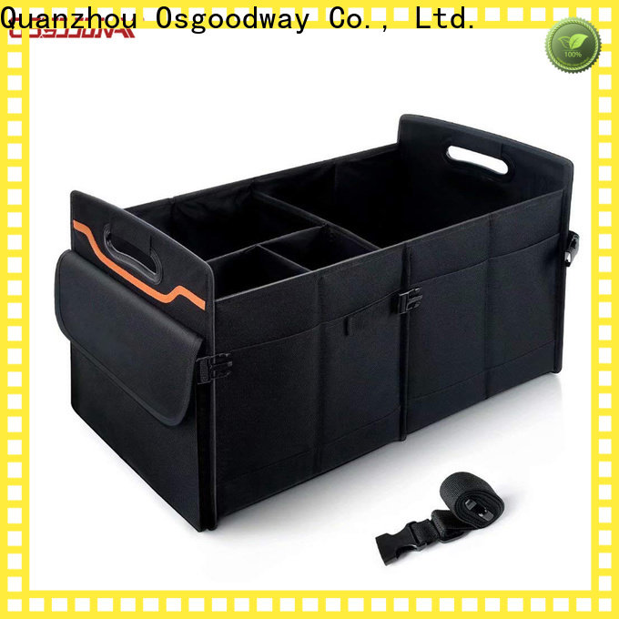 Osgoodway high quality collapsible trunk organizer supplier for vehicle