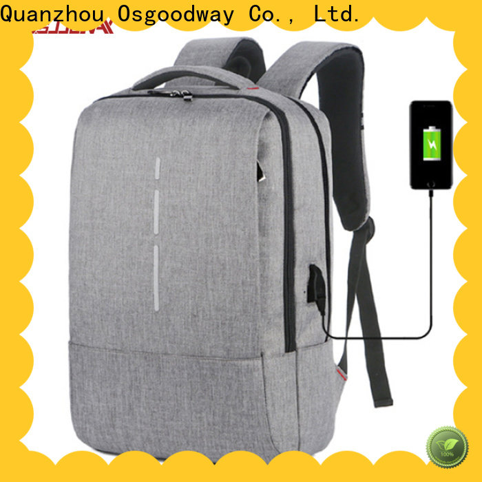 Osgoodway multifunction lightweight laptop backpack from China for school