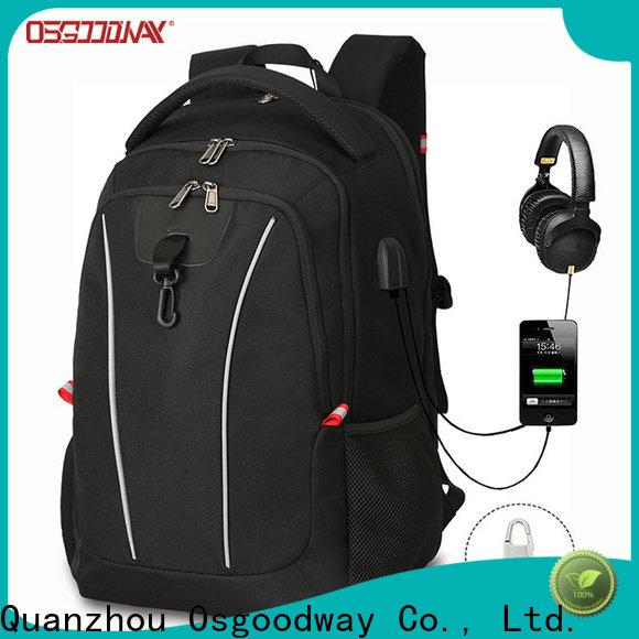 Osgoodway ladies laptop backpack supplier for men