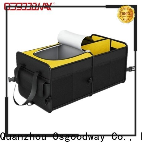 Osgoodway collapsible trunk organizer supplier for minivan