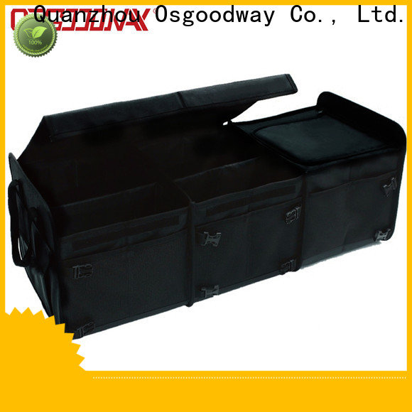 Osgoodway high quality best trunk organizer with cooler bag for vehicle