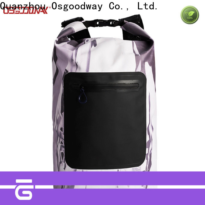 Osgoodway fashion dry bag company easy cleaning for swimming
