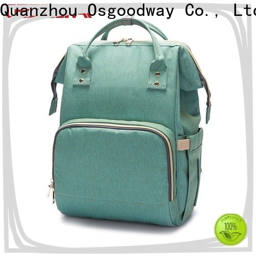 Osgoodway large capacity stylish diaper bags easy to clean for vacation
