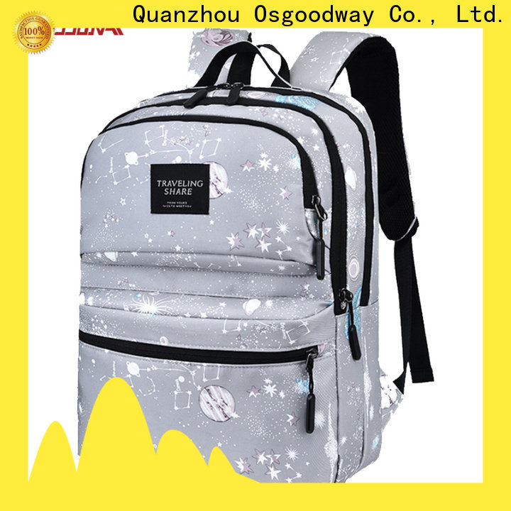 Osgoodway professional laptop backpack from China for school