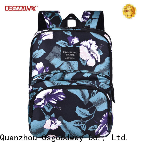 multifunction girl laptop backpack from China for work