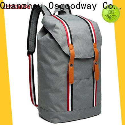 Osgoodway trendy canvas rucksack online for outdoor