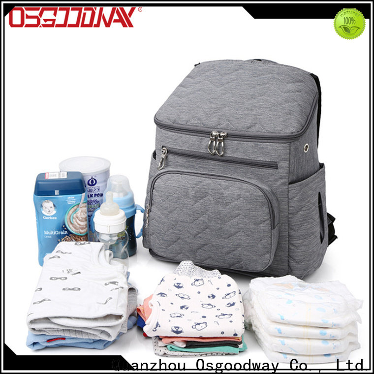 Osgoodway stylish baby diaper backpack manufacturer for dad