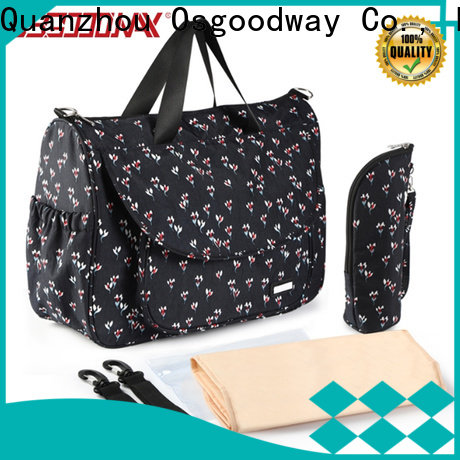 Osgoodway large capacity canvas diaper backpack manufacturer for baby care