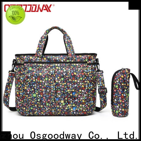 Osgoodway stylish waterproof diaper backpack easy to carry for mom