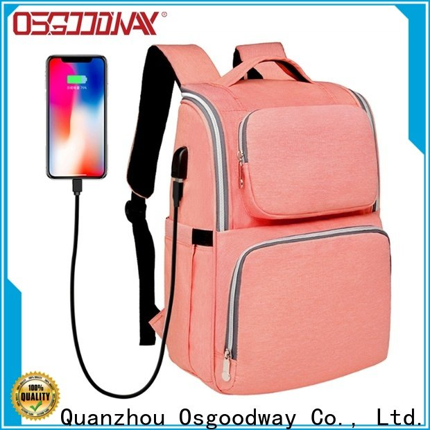 Osgoodway waterproof baby diaper bag wholesale for dad