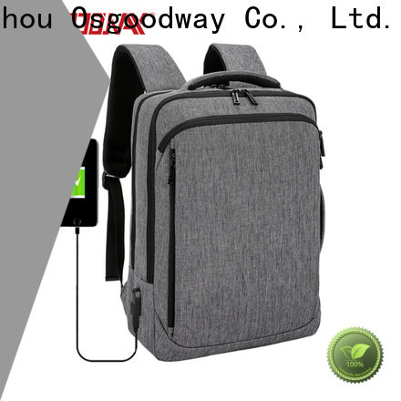 durable canvas laptop backpack supplier for work