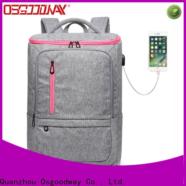 durable ladies laptop backpack wholesale for business traveling