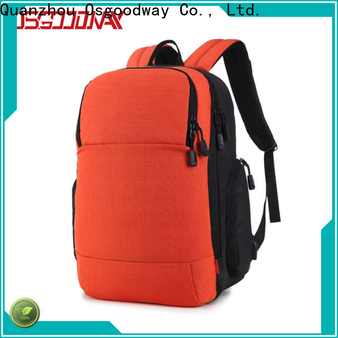 Osgoodway professional laptop backpack supplier for men