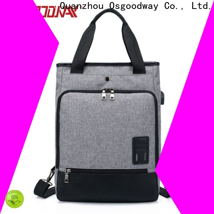 Osgoodway antitheft laptop backpack from China for men