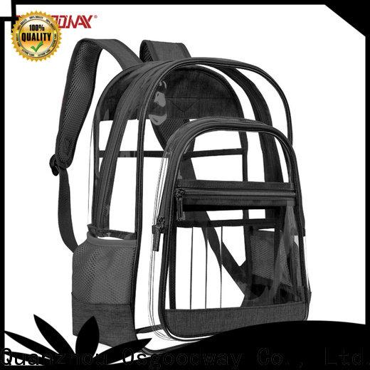 trendy canvas rucksack factory price for school