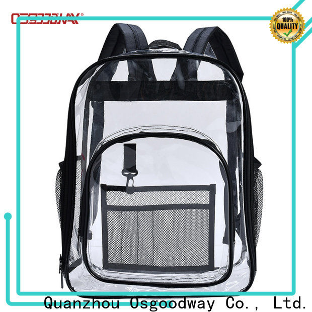 Osgoodway lightweight mens canvas backpack design for daily life