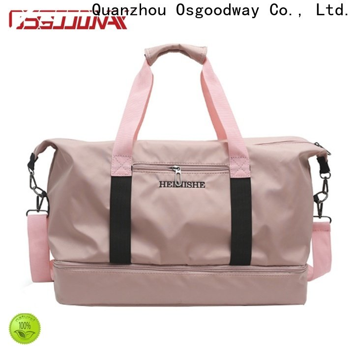 good quality duffel bag manufacturer with Multi-pockets for travel
