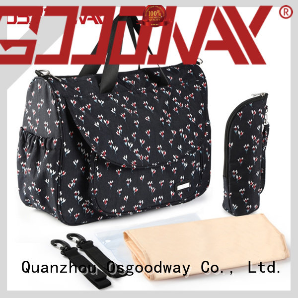 Osgoodway large capacity travel diaper bag wholesale for dad