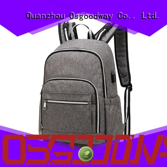 Osgoodway multi-Function diaper bagpack wholesale for vacation