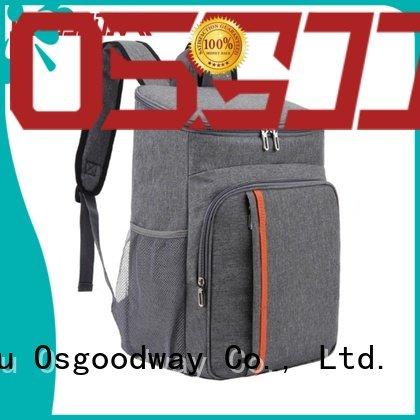 Osgoodway custom portable cooler bag design for hiking