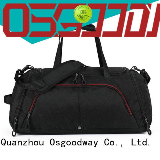 good quality nylon duffle bag design for sport