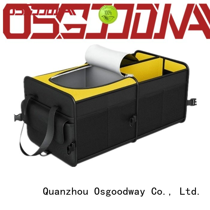 Osgoodway bmw trunk organizer with cooler bag for truck