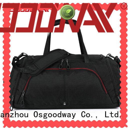 waterproof canvas duffle bag mens with Multi-pockets for fitness