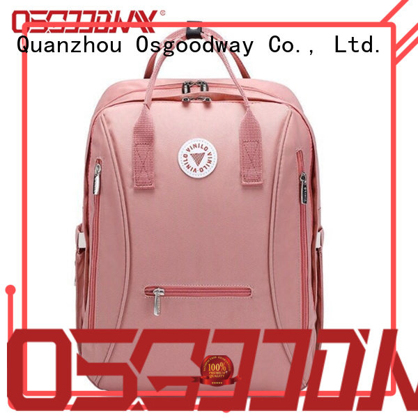 Osgoodway diaper bag for dad easy to carry for baby care