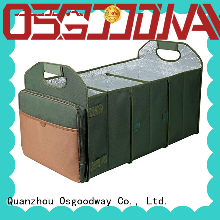 Osgoodway high quality heavy duty trunk organizer supplier for suv