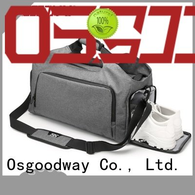 good quality canvas duffle bag mens with Multi-pockets for fitness