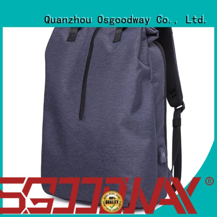 good quality professional laptop backpack from China for men