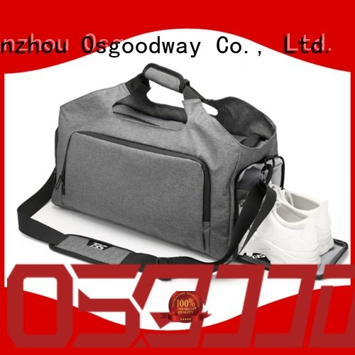 Osgoodway water proof duffle bag with Multi-pockets for gym