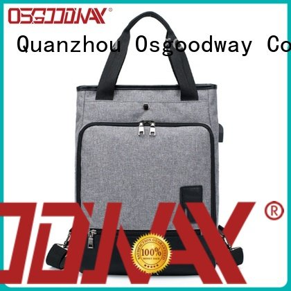 Osgoodway multifunction waterproof laptop backpack from China for school