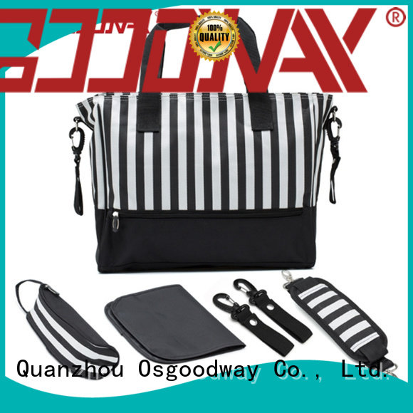 Osgoodway practical personalized diaper bags wholesale for dad