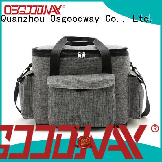 Osgoodway aluminium beach cooler bag keep food cold for BBQs