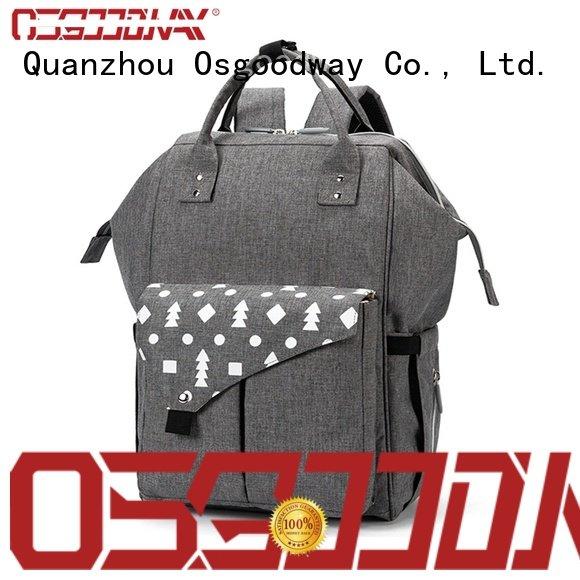 Osgoodway backpack diaper bag for girl manufacturer for mom