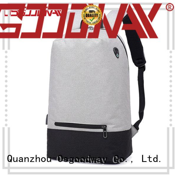 Osgoodway popular laptop backpack for girls wholesale for men