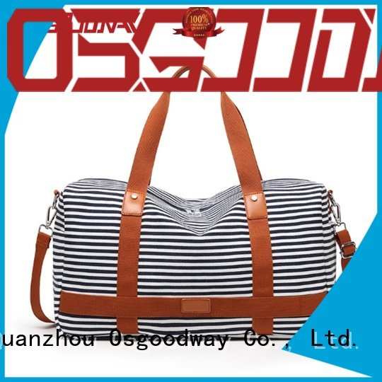 Osgoodway good quality gym duffle bag womens with Multi-pockets for sport