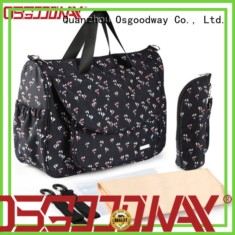 Osgoodway insulated backpack diaper wholesale for dad