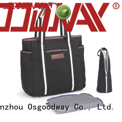Osgoodway practical stylish diaper bags easy to carry for picnic
