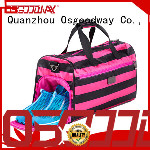 Osgoodway good quality soccer duffle bag supplier for sport