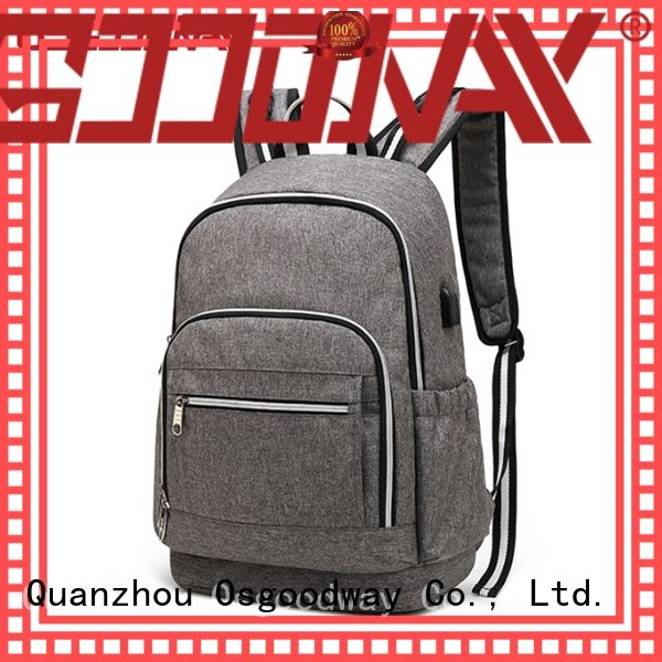 Osgoodway large capacity convertible backpack diaper bag wholesale for vacation