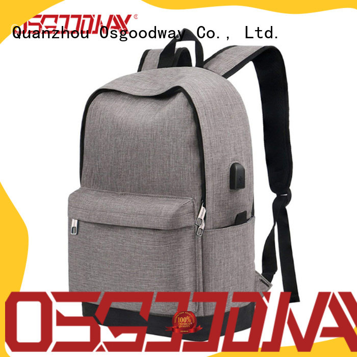 Osgoodway durable professional laptop backpack directly sale for men